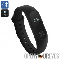 Romaric Mi bande 2 Heart Rate Monitor - IP67, Bluetooth, le bouton tactile OLED, Notifications, dormir, moniteur de Sport