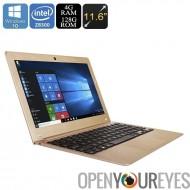 Cavalier EZbook Air portable - écran de 11,6 pouces, 1080p, une licence Windows 10, Cherry Trail X5-Z8300 processeur, 4Go de RA