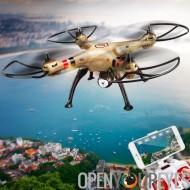 SYMA X8HW FPV Quad Copter - commande de vol de 6 axes, 3D Flip, Mode sans tête, en vol stationnaire automatique, appareil photo