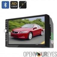 2 DIN voiture MP5 lecteur - écran 7 pouces, 1080p, Bluetooth, 800 x 480 RGB