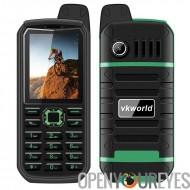 Précommande VK monde Pierre V3 Plus robuste téléphone âgée - Bluetooth, double-IMEI, 4000mAh, Radio FM, IP54, 0.3MP caméra (ver