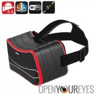Android VR 3D lunettes - 3D Side By Side, gyroscopique capteur, écran de 5 pouces HD, Quad Core CPU, WiFi, Bluetooth, Slot Micr
