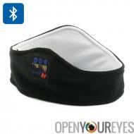 Casque Bluetooth - 98 décibels casque intégré, Bluetooth 3 connectivité, portée de 10 mètres, molleton bandeau de sport