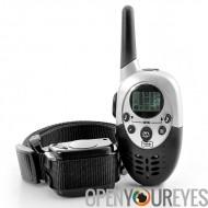 Dressage de chiens collier «K9 II» - Vibration + choc sélectionnable, 3 niveaux, télécommande, 1000 mètres plage de choc
