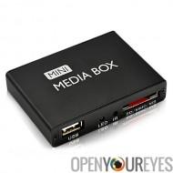 Lecteur multimédia numérique pour TV - HDMI, USB, SD, AV