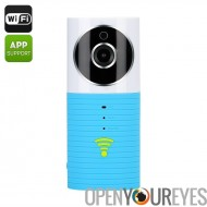 Une connexion Wi-Fi babyphone «Teddy Bear» - capteur CMOS 1/3 pouce, détection de mouvement, enregistrement de Night Vision,