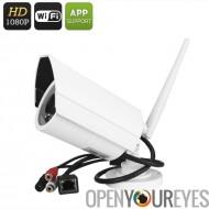 Pleine caméra IP HD - SD de sans fil, 1/2,5 pouce COMS, stockage, téléphone d'assistance, détection de mouvement, Vision de nui