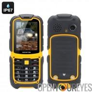 Téléphone robuste MFox J1 - IP67, altimètre, baromètre, boussole, podomètre, SOS, GSM, 3G, Bluetooth