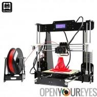 Anet A8 3D imprimante Prusa i3 DIY Kit - plusieurs Types de filaments, impression de Volume important, 0,004 mm précision, SD C
