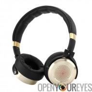 Romaric Mi Hi-Fi casque - diaphragme de 50mm, Gold Plated Jacks, Knowles MEMS micro, pliable