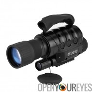 Rongland NV-650 D + monoculaire de Vision nocturne - appareil photo intégré, Zoom optique x 6, 720M plage, 1.3MP capteur CCD, S