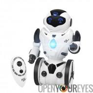 Auto RC Robot - cinq caractéristiques, marche, porteurs, en Mode combat, capteurs, dansant et chantant le geste d'équilibrage (