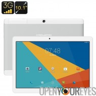 Teclast X 10 3 tablettes - Android OS, 1 IMEI, 3 G, OTG, Quad-Core CPU, écran de 10,1 pouces Full-HD IPS, 4900mAh