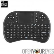 Sans fil clavier Mini - Portable Design, AZERTY, 92 touches, contrôleur de jeu, tapis de souris, DPI réglable, Dongle sans fil