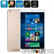 Teclast X 80 Power Dual-OS Tablet PC - Windows 10, Android 5.1, processeur Quad-Core, Google Play, sortie HDMI, 2 Go de RAM, éc