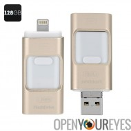 128Go multifonction USB FlashDrive - High Speed USB 2.0, Triple iOS, Android, l'Interface Windows