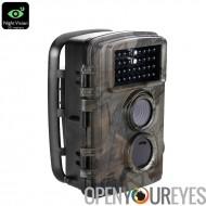 720p HD appareil photo - capteur CMOS 5MP, Flash IR 20 mètres, capteur PIR 20M, déclencheur de 0,6 s, vidéo HD, 12 mois en veil