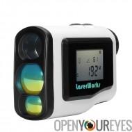 600 mètres Laser Golf télémètre - 6 x Zoom, affichage LCD, brouillard Mode, Mode Scan, imperméable à l'eau