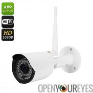 Full HD sans fil caméra IP - CMOS 1/2.5 pouces, Full HD, IR CUT, Motion Detection, 1080p, Support de téléphone à distance, Visi