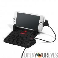 Remax Smartphone douille - Silicone Anti dérapage Base, conception de DIY, tous les téléphones, chargement Base