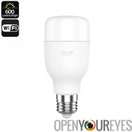 Romaric Yeelight E27 Smart LED ampoule - Plug-And-Play, App Control, WiFi, économe en énergie, 8W, 600lm, température de couleu