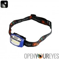 S/n LED Headlight - conception Durable, 110 Lumen, 3 Modes de lumière, résistant aux intempéries, vers le haut à 100 000 heures