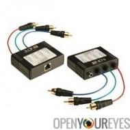 Extender AV RGB & SPDIF Cat 5/6 jusqu'à 300m