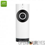 720p Mini caméra IP - 1/4 de pouce CMOS capteur, anti-IR, détection de mouvement, Android et iOS App, enregistrement de carte S