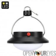 360 lumen LED feux de Camp - 60 LEDs, 5.5V polycristallin panneau solaire, 5 Modes, 1200mAh batterie