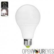 810 lumens ampoule LED - E27 raccord, 9 Watt, 4000K lumière Temp, 25000 durée de vie, construit dans le capteur de lumière
