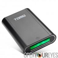 Batterie externe chargeur - Batteries 4 x 18650, LCD écran, Double USB sortie de Smart