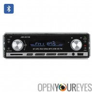 1 DIN autoradio Bluetooth - USB Aux + Support de carte SD, MP3, WAV, WMA, FM, Support de haut-parleur 4 x 45W