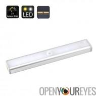 Motion Detection LED Light - capteur PIR 3 compteur 120 degrés, 25 Lumen, 10 LED, Installation facile, jusqu'à à durée de vie 8