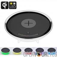 Sans fil voyant LED couleur - des Millions de couleurs, Qi-Enabled Wireless charge, accessoire de maison intelligente