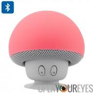 Conception étanche Bluetooth haut-parleur - Microphone intégré, de champignons, ventouse, Capable de répondre à des appels (rou