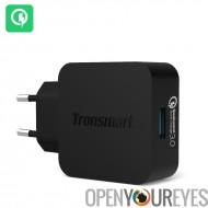 Tronsmart Quick Charge 3.0 rapide chargeur secteur-80 % plus rapide de charge, surintensité, surcharge. Protection contre les c