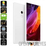 Romaric Mi Mix téléphone Android - lunette-moins 6,4 pouces, processeur Snapdragon 821, 6.0 Android, 4 Go de RAM, WiFi bi-bande