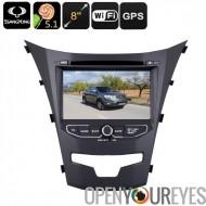 Android de voiture lecteur DVD - double-DIN, 7 pouces, Support de la 3G, Android 5.1.1, région DVD gratuit, processeur Quad-Cor