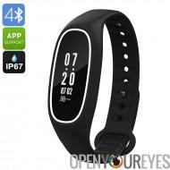 Fitness Tracker Bracelet DB01-nage caractéristique, IP67, rythme cardiaque, podomètre, tension artérielle, compteur de calories