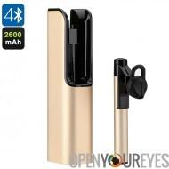 Écouteur Bluetooth sans fil - micro intégré, mains gratuitement des appels téléphoniques, portée de 10m, Noise Cancellation, 26
