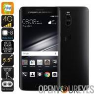 Huawei Mate 9 Porsche Smartphone - Android 7.0, Octa-Core CPU, 6 Go de RAM, 20MP double caméra, 2560x1440p, double-IMEI, 4G
