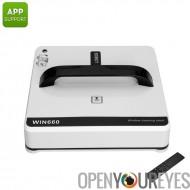 Bobot Win660 fenêtre nettoyage Robot - détection des contours Smart MEMS, sauvegarde UPS batterie, 3 Modes de nettoyage, App Co