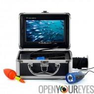Pêche sous-marine caméra - 7 pouces moniteur, câble de 15m, étui dur
