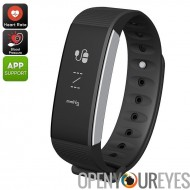 C9 Sport Tracker Bracelet - Heart Rate Monitor, tension artérielle, Calorie Counter, podomètre, Bluetooth 4.0, IP67 (noir)