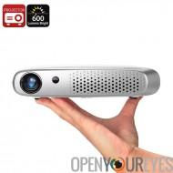 Gigxon G-602 DLP Projector - 600 Lumen, Wi-Fi, 1200 x 800 résolution, système d'exploitation Android, Auto Keystone, 20 à 200 p