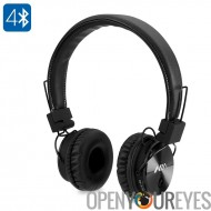 NIA X 3 Bluetooth casque - haut-parleurs de 40mm HD, Radio FM, carte SD, casques sans fil