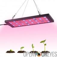 15 watts LED élèvent la lumière - 810 lumens, 75 LEDs, 53 x rouge, 18 x bleu, 2 x UV, 2 x IR, économe en énergie