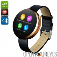 DM360 Montre Bluetooth - Support de l'App, Bluetooth, appels, Messages, Heart Rate Monitor, podomètre, sommeil Monitor, 320mAh