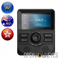 DAB le moniteur - écran 3 pouces, FM Transmitter, Bluetooth, sortie Aux, gamme de fréquences DAB bande III