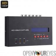 EZCAP 1080p HDMI enregistreur - HDMI, YPbPR, CVBS, Audio, micro, 4 Go de RAM, soutenant la XBOX 1, 360, PC, DVD, PS3, PS4